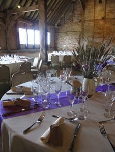 Red Barn - glasses-purple-table