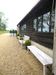 Red Barn - outside-seating